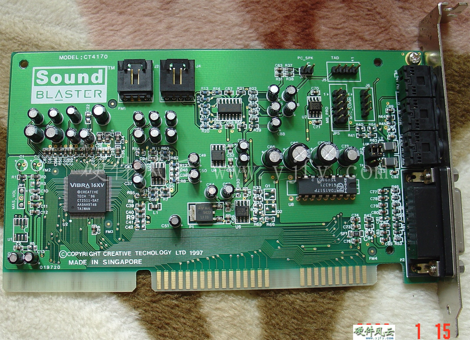Sound blaster ct4870 xp
